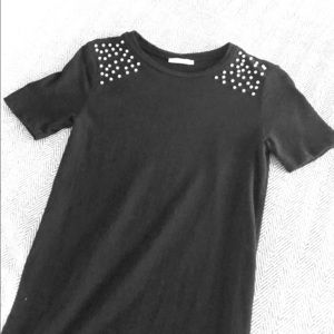 Zara Trafaluc Black Maxi Dress